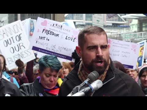 Rep  Brian Sims at Tuesdays with Toomey Valentine's Day edition