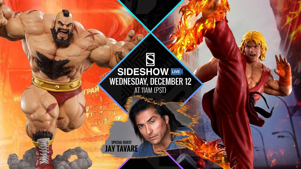 Jay Tavare Street Fighter And More Sideshow Live Youtube