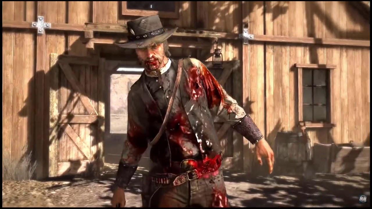 Red Dead Redemption 2 - John Marston Death Parallel. - YouTube