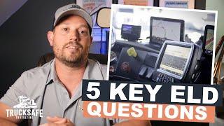 5 Key ELD Questions