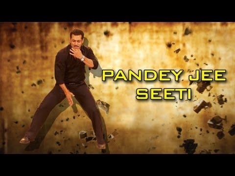Making of the song Pandey Jee Seeti | Dabangg 2 | Salman Khan, Sonakshi Sinha