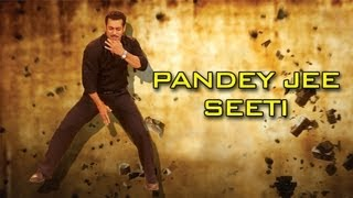 Making of the song Pandey Jee Seeti | Dabangg 2 | Salman Khan, Sonakshi Sinha