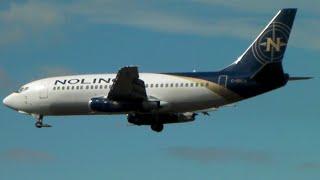 RARE Nolinor 737-200 [C-GNLK] Landing in Toronto on RWY 24L