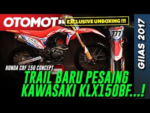 Eksklusif!!! Unboxing Honda CRF150 Concept