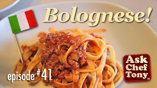 Bolognese Sauce Recipe, How To Make This Famous Italian Meat Ragu - Chef Tony's Authentic Technique