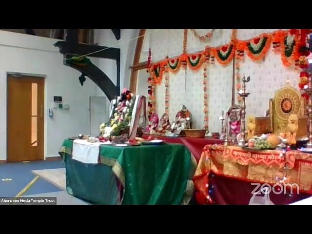 Aberdeen Hindu Temple Trust's - Ganesh Ustav 2021
