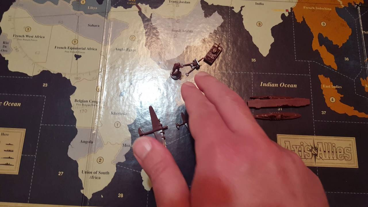 Axis and allies 1942 tutorial