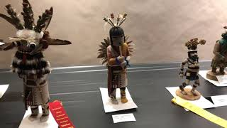 Best Of Show - Wooden Pueblo Figurative Carving & Sculpture - Santa Fe Indian Market 2019