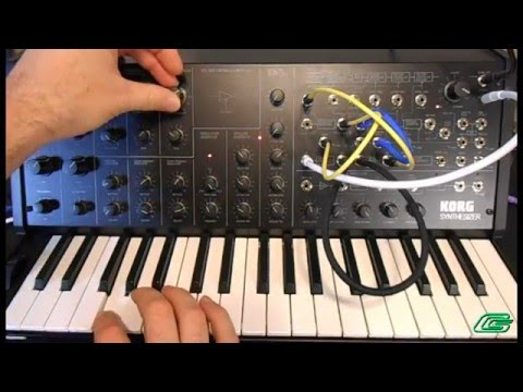 Korg MS-20 Mini Video Demo #3 Synthesizer 12 More Patches