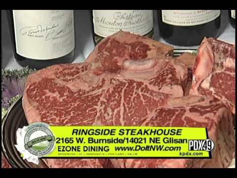 Dining Out In The Northwest Ringside Steakhouse Portland Oregon 4