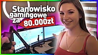 MOJE STANOWISKO GAMINGOWE ZA 80 000 * LUURE GOTOWA NA VR *