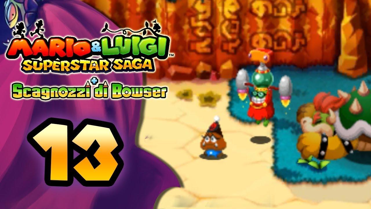 9dab9f4f1360c Mario   Luigi Superstar Saga + Scagnozzi di Bowser ITA  Parte 13 -  Goombronio