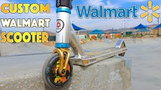 CUSTOMIZING WALMART SCOOTER INTO A PRO SCOOTER