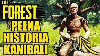 PEŁNA HISTORIA KANIBALI z The Forest!    WYJAŚNIENIA I TEORIE