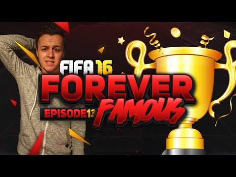 DE LAATSTE AFLEVERING??? - FOREVER FAMOUS #13 - FIFA 16 UT