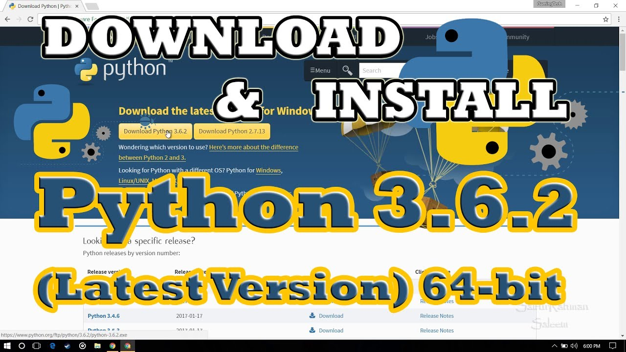 Download python.