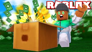 I FOUND 1.000.000 $ IN ROBLOX UNBOXING SIMULATOR!!