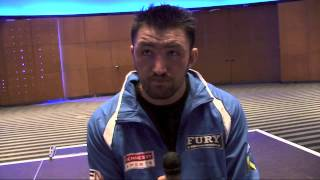 "Hughie Fury ""Being Back In The Ring Felt Like Home"""