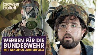 Werben für die Bundeswehr – Mit Bier zum Erfolg