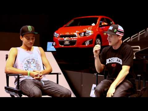 Street League 2012: Street League Firsts Interview with Nyjah Huston - Presented by Chevy Sonic
