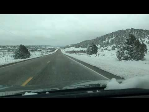 Driving through Southern Ute Reservation, Colorado