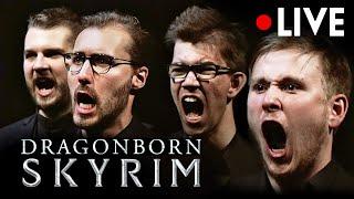 SKYRIM Dragonborn Theme LIVE [4K] CHOIR & ORCHESTRA CONCERT | Music from OST Soundtrack(Dovahkiin)