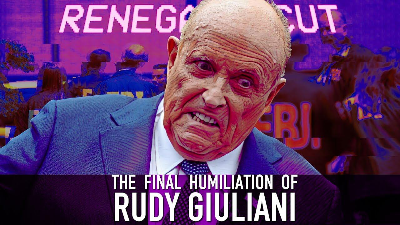 The Final Humiliation of Rudy Giuliani | Renegade Cut