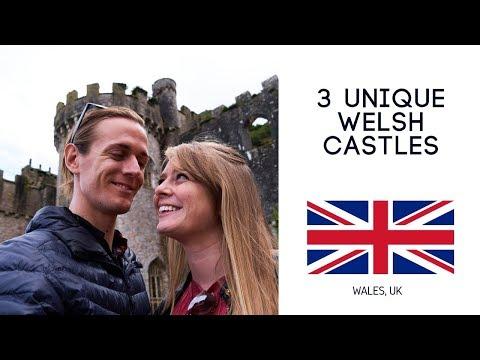 MUST SEE! - 3 Unique Wales Castles (Conwy, Gwrych, Bodelwyddan)