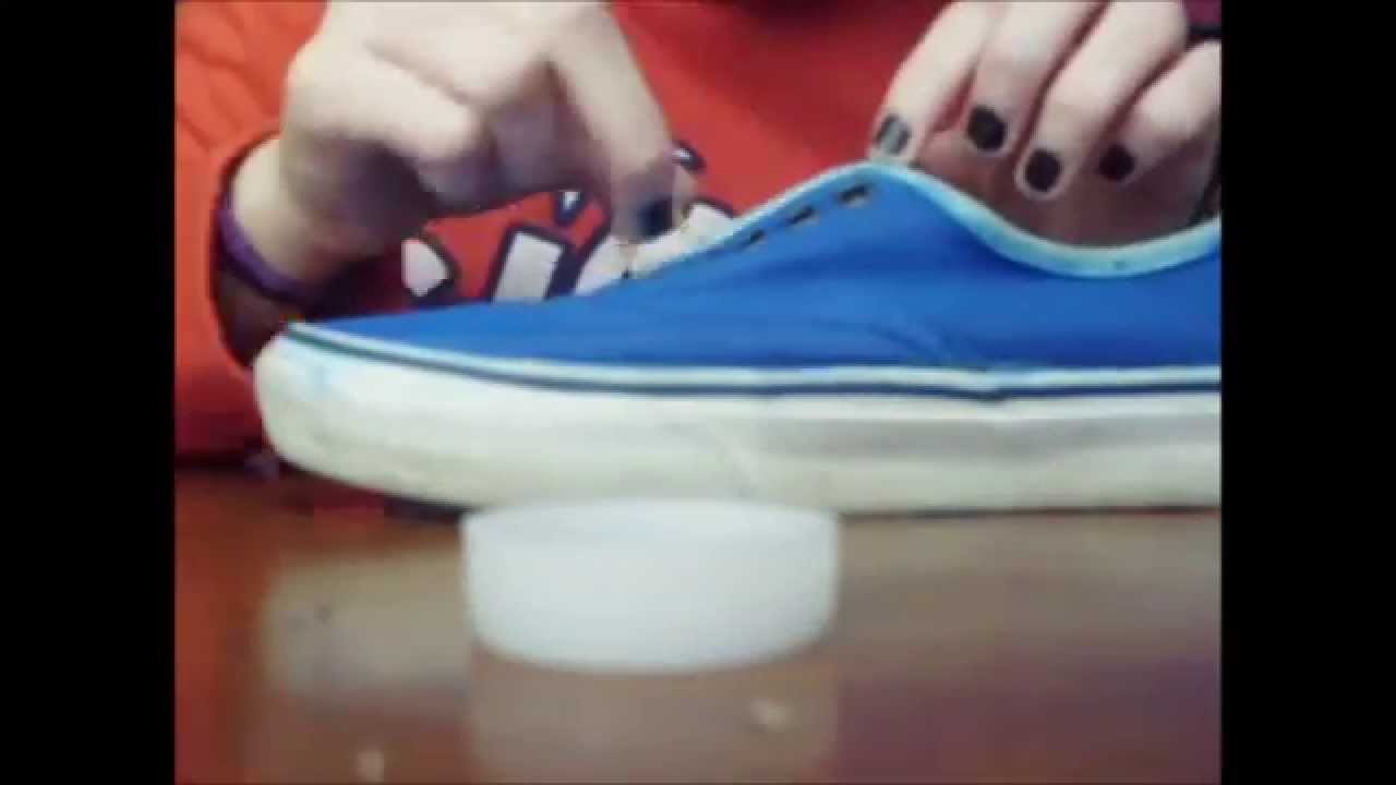 5c1d4c7cc DIY Pinta tus zapatillas - YouTube