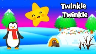 Twinkle Twinkle Little Star - 2 Nursery Rhymes for children - Animated Cartoon for kids