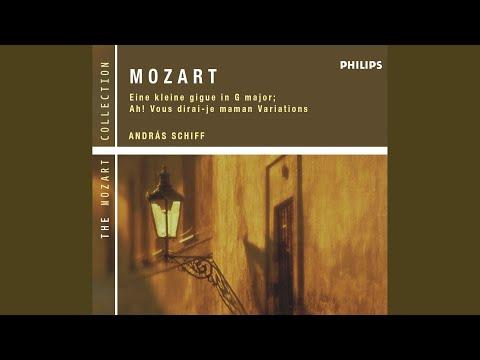 """Mozart: Twelve Variations in C on """"Ah, vous dirai-je Maman"""", K.265"""