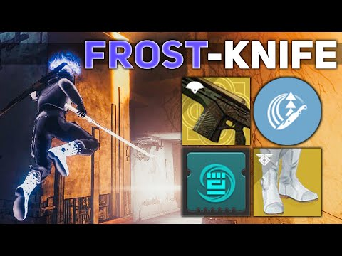 The Ultimate Throwing Knife Build (Frost-Knife) | Destiny 2 Builds