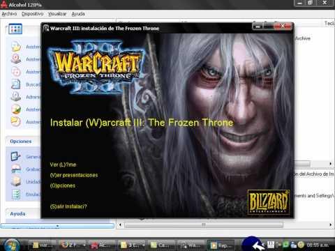 Warcraft III tutorial de instalacion video 2