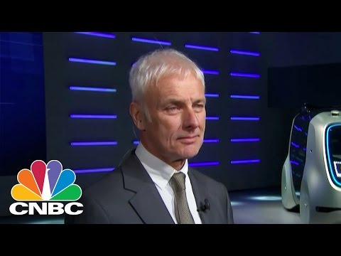 Volkswagen CEO: We Stand For Global Free Trade | CNBC