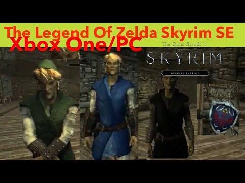 Skyrim SE Xbox One/PC Mods|The Legend Of Zelda Skyrim SE