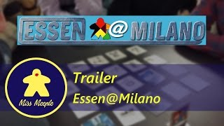 Essen@Milano 2016 - Trailer