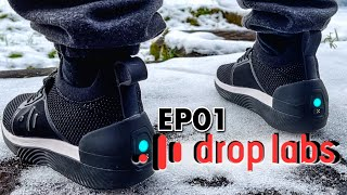 Smart Shoes with Ground-shaking BASS - Music to my Feet - DropLabs EP01