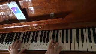 Rauf & Faik - Детство,detstvo(piano cover,rhythmic version)