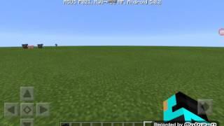 Как сделать портал в Эндер мир в Minecraft Pocket Edition Ока без модов