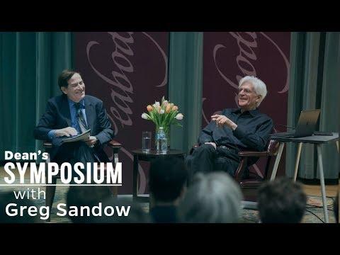 Dean's Symposium Series: Greg Sandow