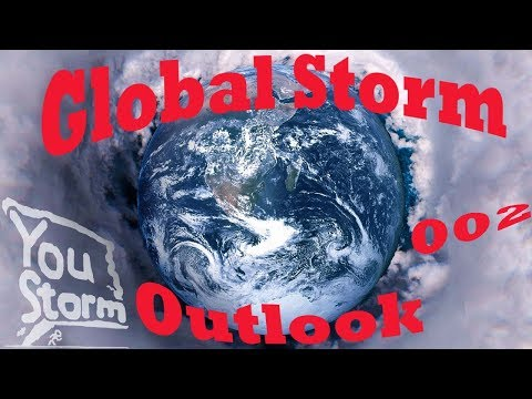 Global Storm Outlook, 28 Oct, Saola, E. Coast US storm, and east Europe storm