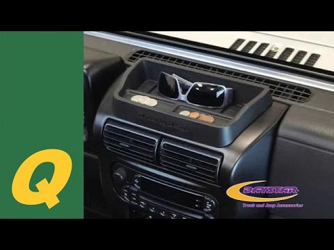 Daystar Upper Dash Panel For Jeep Wrangler TJ Install