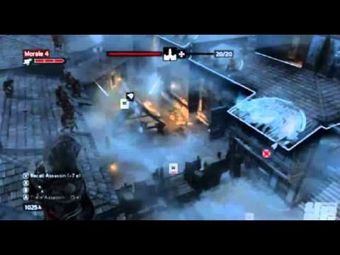 Assassin's Creed Revelations - Gameplay Scenes 1