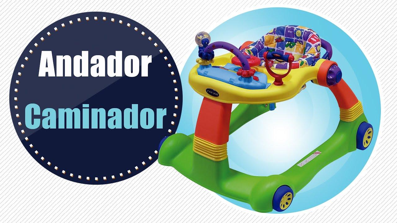 846069501 Andador Caminador Baby Kit´s - YouTube