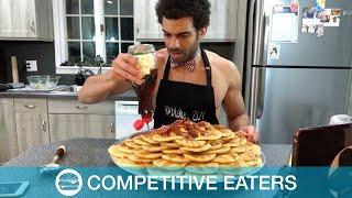 Pancake Feats Demolished By Food Blogger