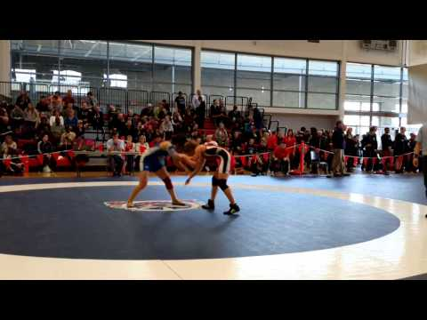 2015 Junior National Championships: 51 kg Kaitlyn Pretli vs. Vivian Mark