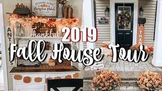 FALL HOME DECOR TOUR 2019 | FARMHOUSE FALL DECOR 2019