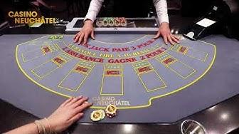 Casino Neuchâtel - Black Jack : but et règles du jeu
