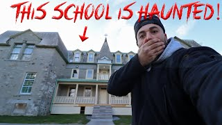 I WENT TO A HAUNTED SCHOOL & THIS IS WHAT HAPPENED!