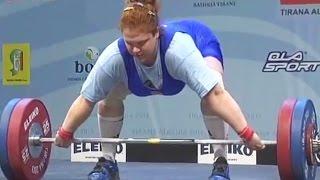 2013 European Weightlifting Championships, Women +75 kg \ Тяжелая Атлетика. Чемпионат Европы